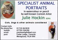 Specialist animal portraits