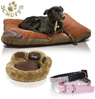 Luxurious dog bedding