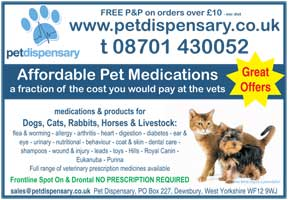 Supply of pet medications