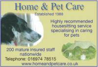 Specialists in caring for pets - housesitting